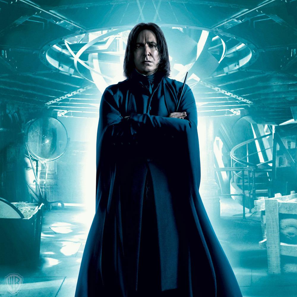 Alan Rickman El Eterno Severus Snape De Harry Potter