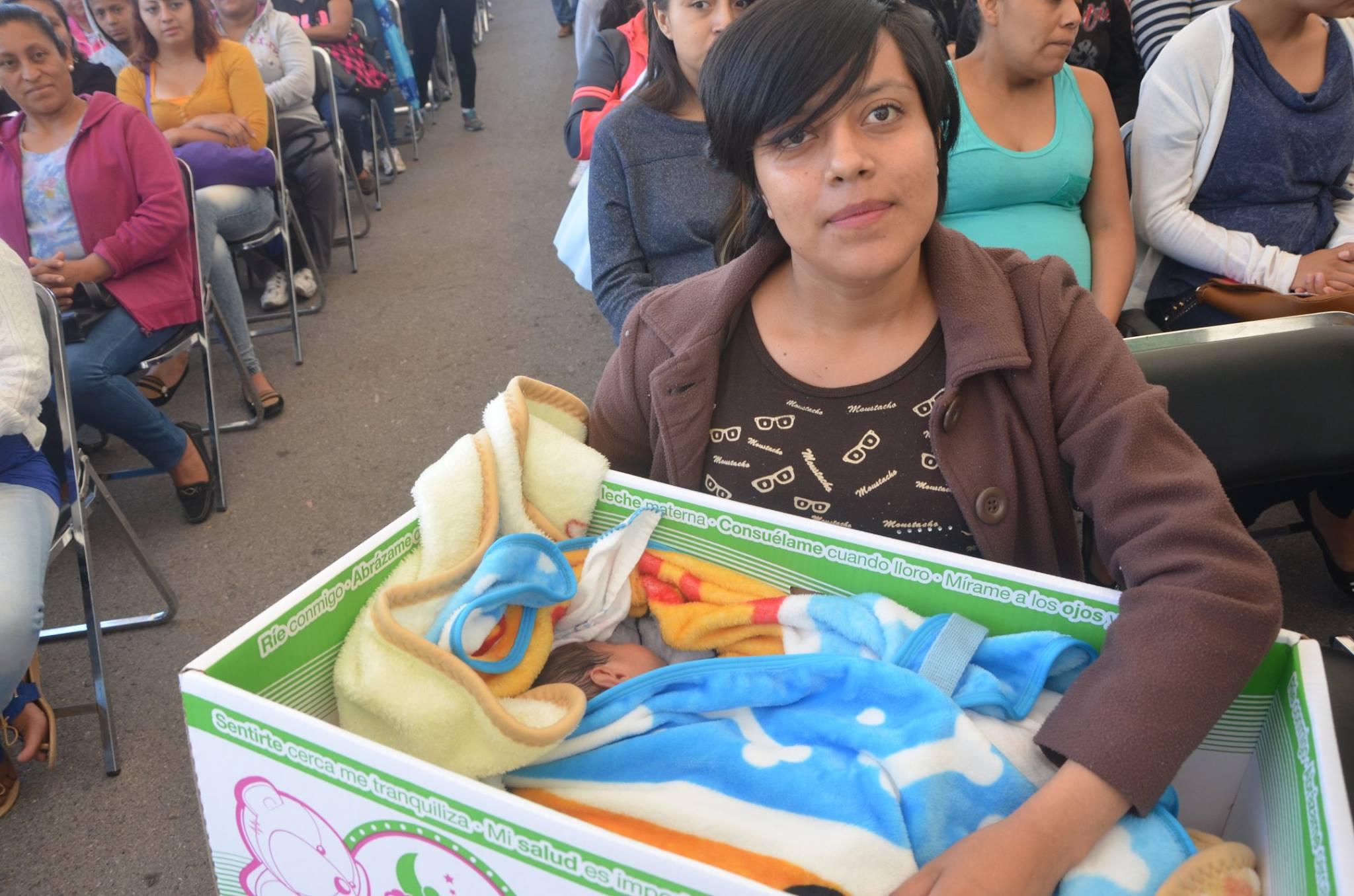 b2535f20f Con cunas de cartón, SLP quiere evitar muertes de bebés