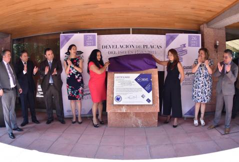 Reconocen al IEDF máximo nivel internacional de calidad