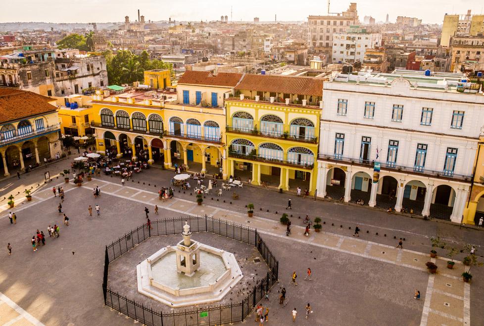 La Habana Vieja es reconocida como Patrimonio de la Humanidad por la UNESCO desde 1982