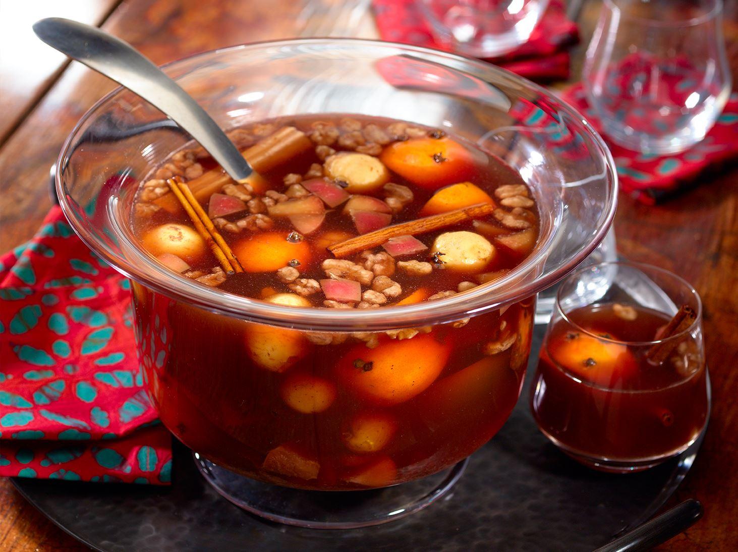 El ponche mexicano es una combinación de tradiciones.