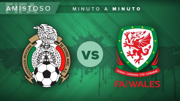 México vs. Gales, en vivo, partido amistoso: MINUTO A MINUTO