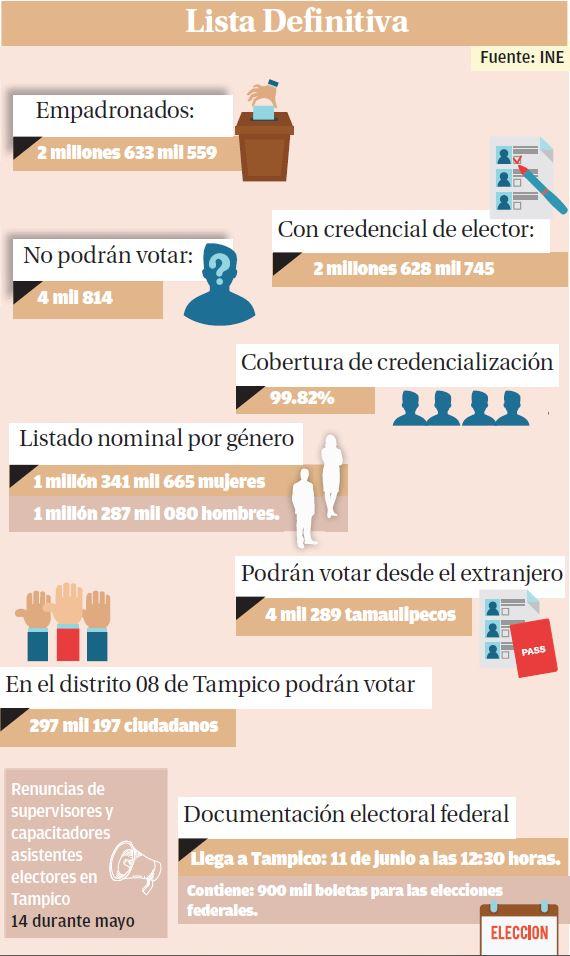 Infografía votantes elecciones
