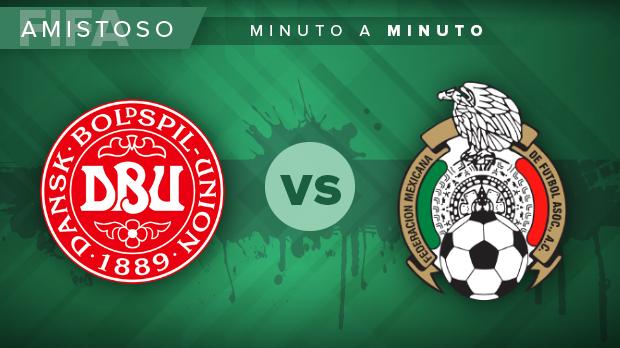 Dinamarca vs México en vivo, Amistoso: GOLES