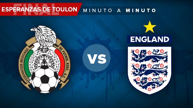 México vs Inglaterra en vivo y online: Final Toulon