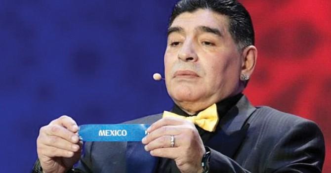 México no merecía ser sede del Mundial 2026, afirma Maradona