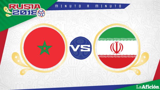 Marruecos vs Irán en vivo, Mundial Rusia 2018: MINUTO A MINUTO
