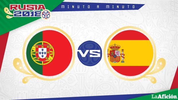 Portugal vs España, Mundial Rusia 2018: GOLES