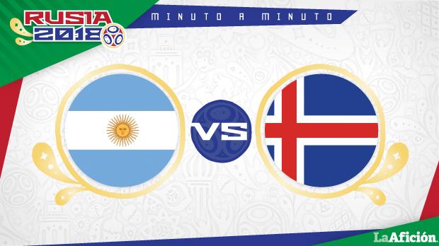 Argentina vs Islandia, Mundial Rusia 2018: GOLES