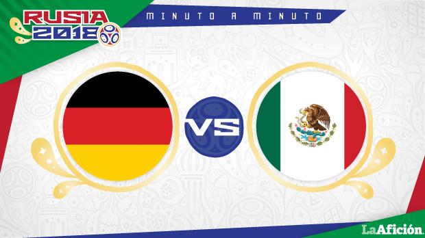 Alemania vs México, Mundial 2018 (0-1): RESULTADO