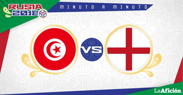 Túnez vs Inglaterra, Mundial 2018 (1-2): GOLES Y RESULTADO