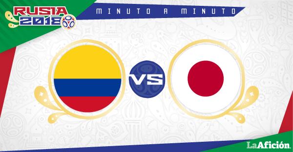 Colombia vs. Japón en vivo, Mundial Rusia 2018: MINUTO A MINUTO