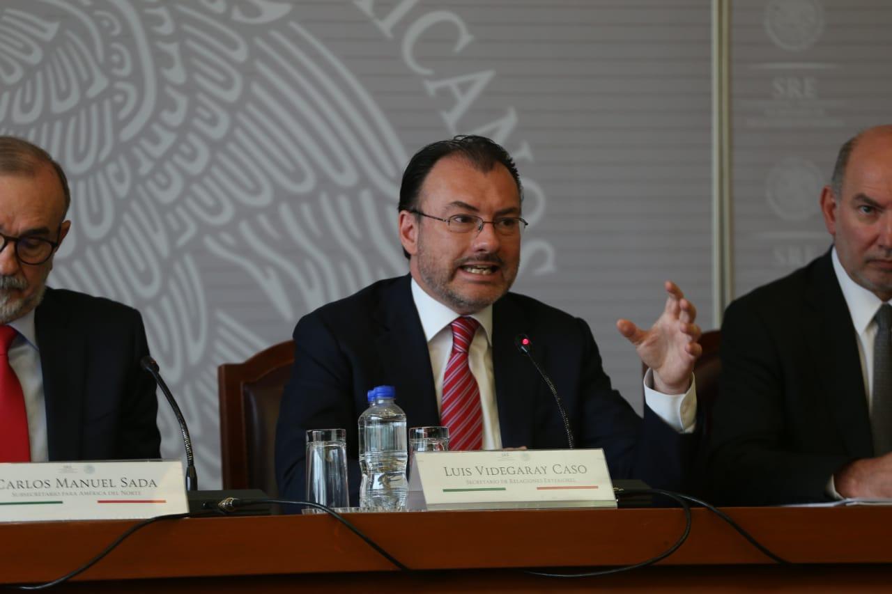 Política de división de familias es cruel e inhumana: Videgaray