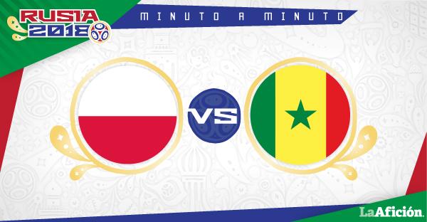 Polonia vs. Senegal en vivo, Mundial Rusia 2018: MINUTO A MINUTO