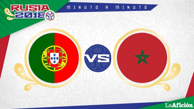 Portugal vs Marruecos en vivo y Minuto a Minuto: Mundial 2018
