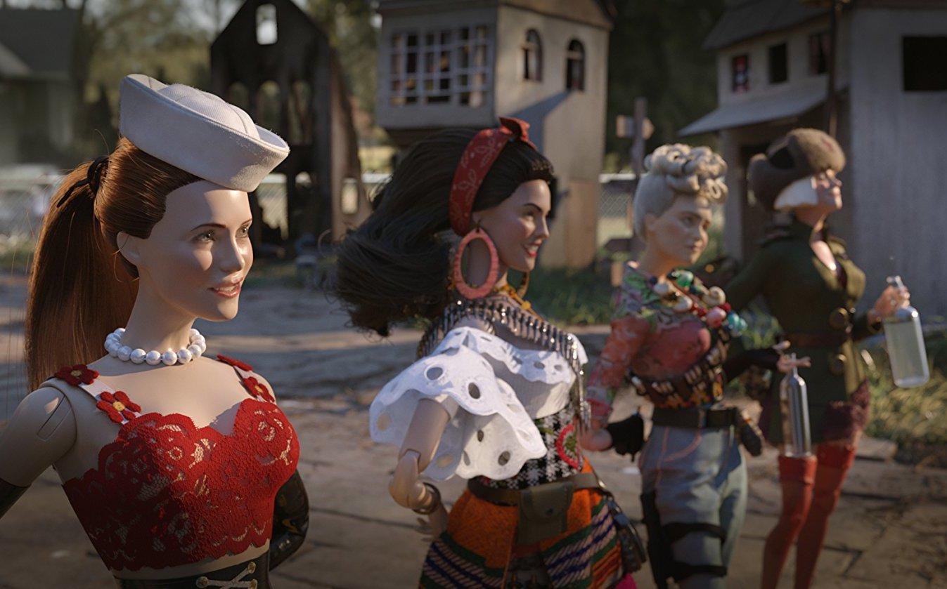 ¡Eiza González se convierte en una muñeca en esta película!