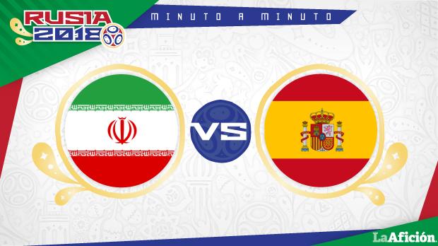 Irán vs España, Mundial Rusia 2018 (0-1): GOL Y RESULTADO
