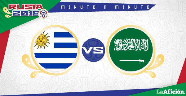 Uruguay vs Arabia Saudita en vivo, Mundial Rusia 2018