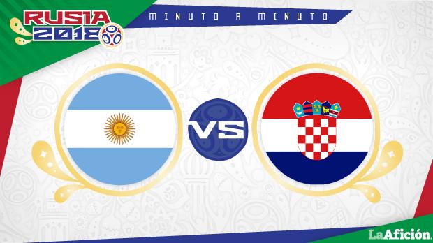 Argentina vs Croacia, Mundial 2018 (0-3): GOLES Y RESULTADO