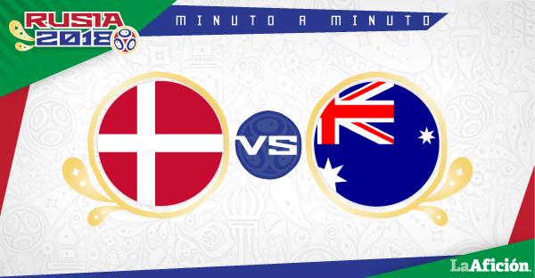 Dinamarca vs Australia, Mundial 2018 (1-1): GOLES Y RESULTADO