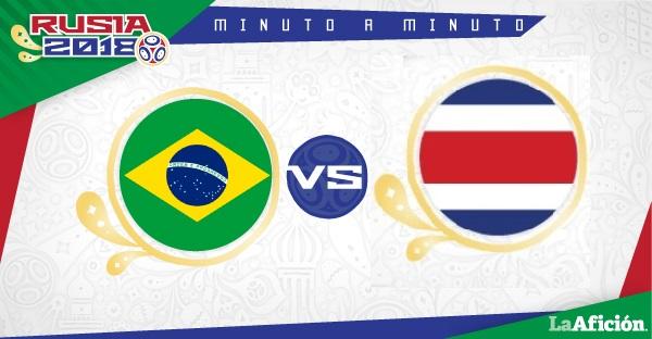 Brasil vs Costa Rica en vivo, Rusia 2018 (2-0): GOLES Y RESULTADO