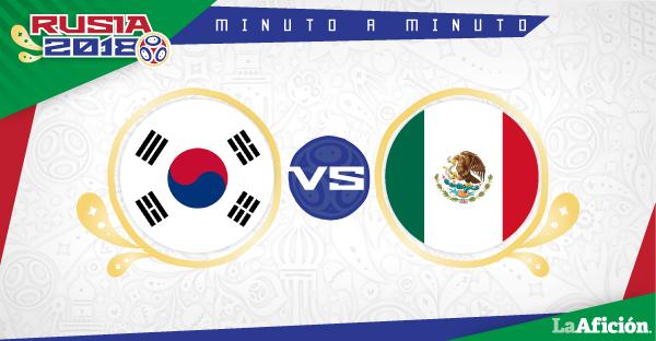Corea del Sur vs México, Mundial 2018: GOLES Y RESULTADO