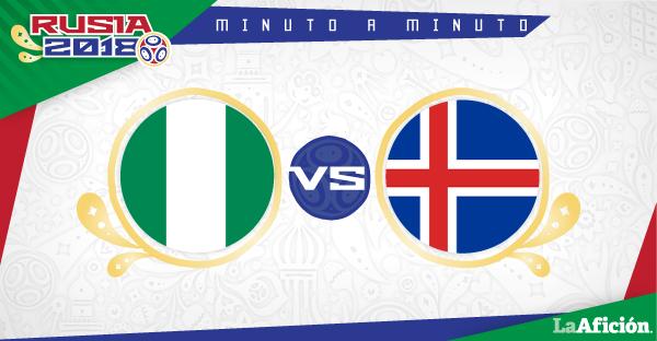 Nigeria vs Islandia, Mundial 2018 (2-0): GOLES Y RESULTADO