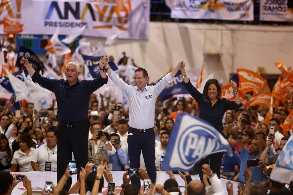 En cierre de campaña, promete Anaya combatir la corrupción y la pobreza
