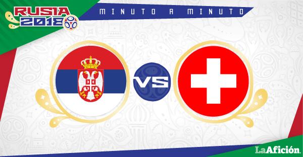Serbia vs Suiza, en vivo, Mundial 2018 (2-1): GOLES