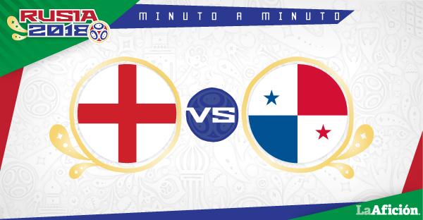 Inglaterra vs Panamá,  Rusia 2018:(6-1)  GOLES