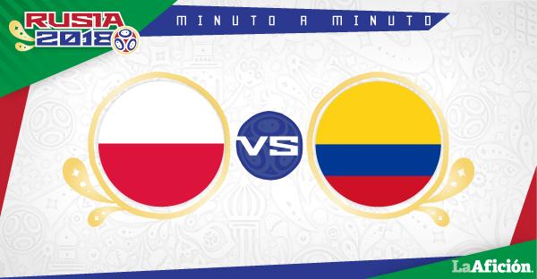 Polonia 3-0 Colombia,  Rusia 2018: GOLES