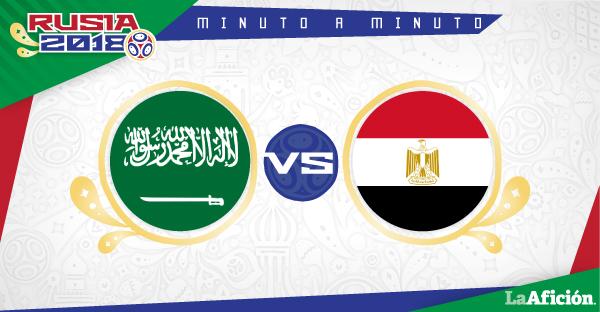 Arabia Saudita vs. Egipto; Mundial Rusia 2018: RESUMEN Y GOLES