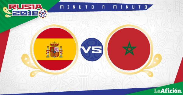 España vs Marruecos, Mundial Rusia 2018: GOLES Y RESULTADO