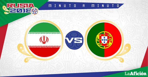Irán vs Portugal en vivo y online: MINUTO A MINUTO
