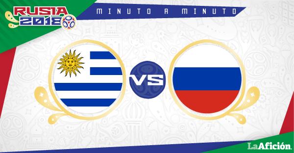 Uruguay vs Rusia, Mundial 2018 (3-0): GOLES Y RESULTADO