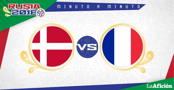 Dinamarca vs Francia; Mundial Rusia 2018: RESUMEN