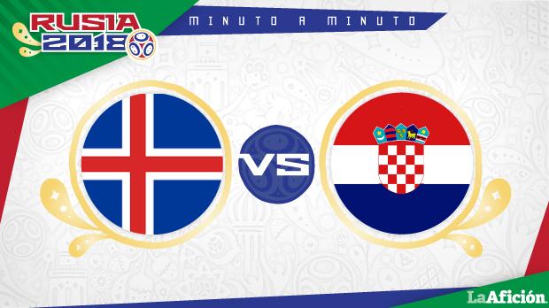 Islandia vs Croacia en vivo y online: MINUTO A MINUTO