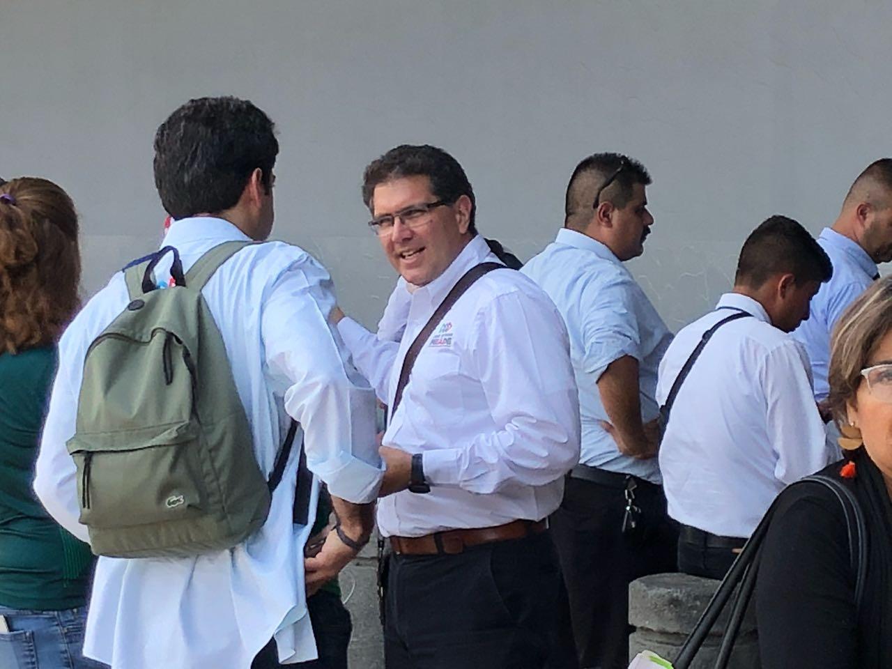 El senador Armando Ríos Piter