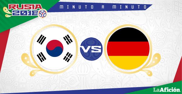Corea del Sur vs. Alemania; Mundial Rusia 2018: RESUMEN Y GOLES