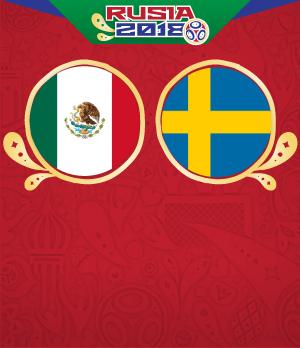 partido mexico contra suecia en vivo