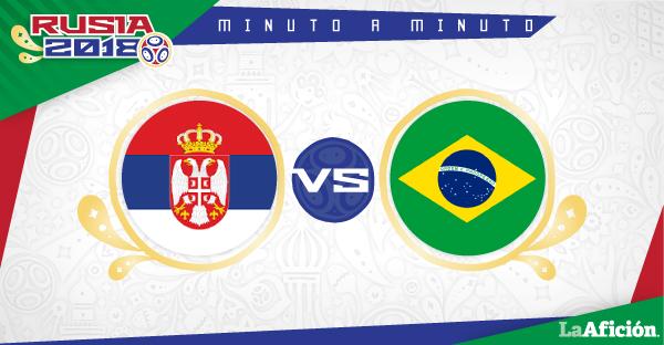 Serbia vs Brasil, Mundial 2018: GOLES Y RESULTADO