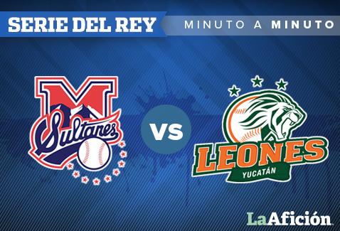 Sultanes de Monterrey vs Leones de Yucatán en vivo y Minuto a Minuto: LMB