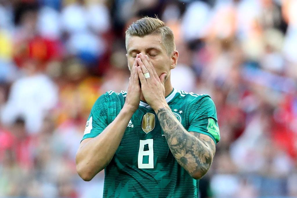 Alemania nunca antes había caído en la primera fase