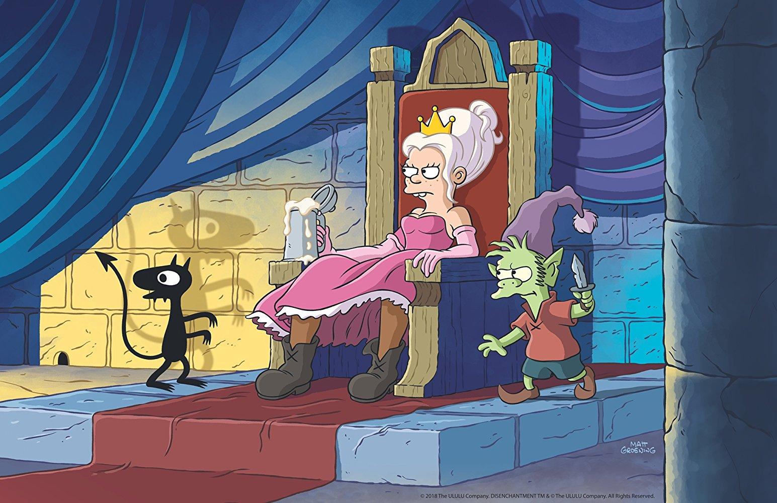 Primer tráiler de '(Des)encanto', la serie de Matt Groening para Netflix