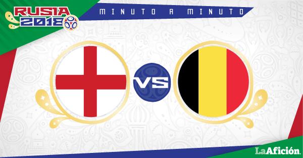 Inglaterra vs Bélgica, Mundial 2018 (1-2): GOLES Y RESULTADO