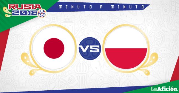 Japón vs Polonia, Mundial Rusia 2018: GOL Y RESULTADO
