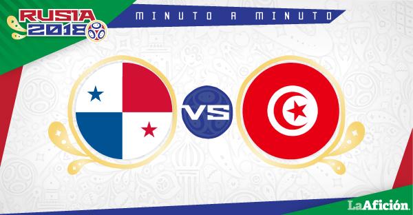 Panamá vs Túnez en vivo: Minuto a Minuto