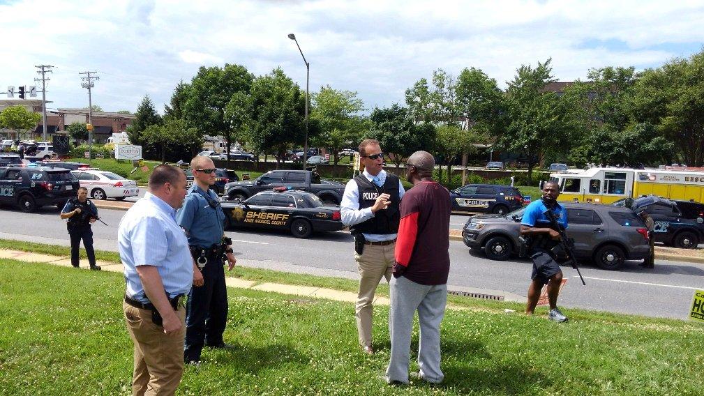 EEUU: Tiroteo en las oficinas del periódico Capital Gazette en Annapolis