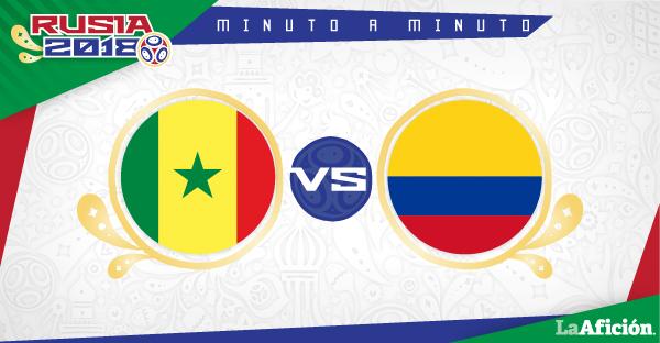 Senegal vs Colombia; Mundial Rusia 2018: RESUMEN Y GOLES