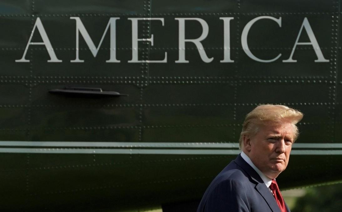 Trump niega intención de salir de la OMC